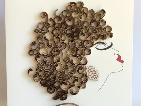 Quilling 201 - Handmade by Norma May