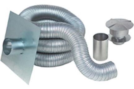 2gackit0425 4 Quot X25 Aluminum Chimney Liner
