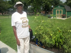 The oldest gardener at 89
