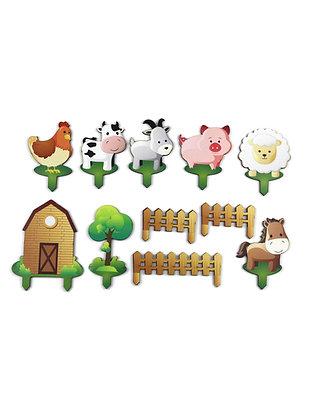 Ավազով խաղալու հավաքածու՝ ֆերմա