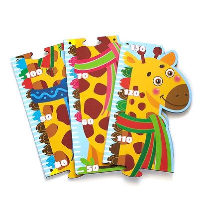 Աճը չափող փայտե խաղալիք՝ ընձուղտ