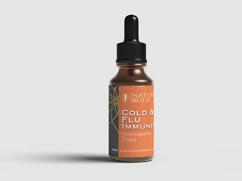 Cold & Flu Immunity Drops 50ml (Buy 1 Get 1 FREE)