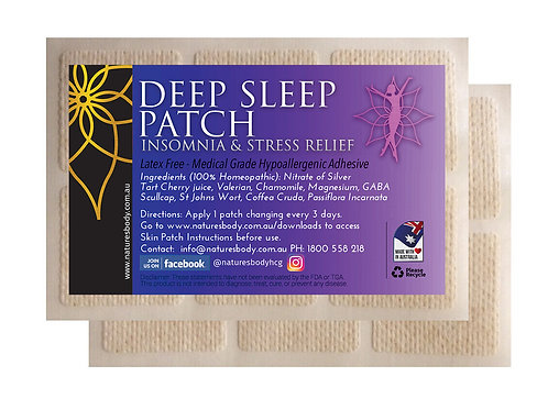 Deep Sleep Patch - Insomnia & Stress Relief (Each Patch Lasts 7 Days)