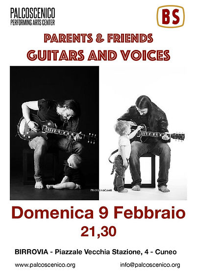 Parents & Friends Birrovia guitars e voi