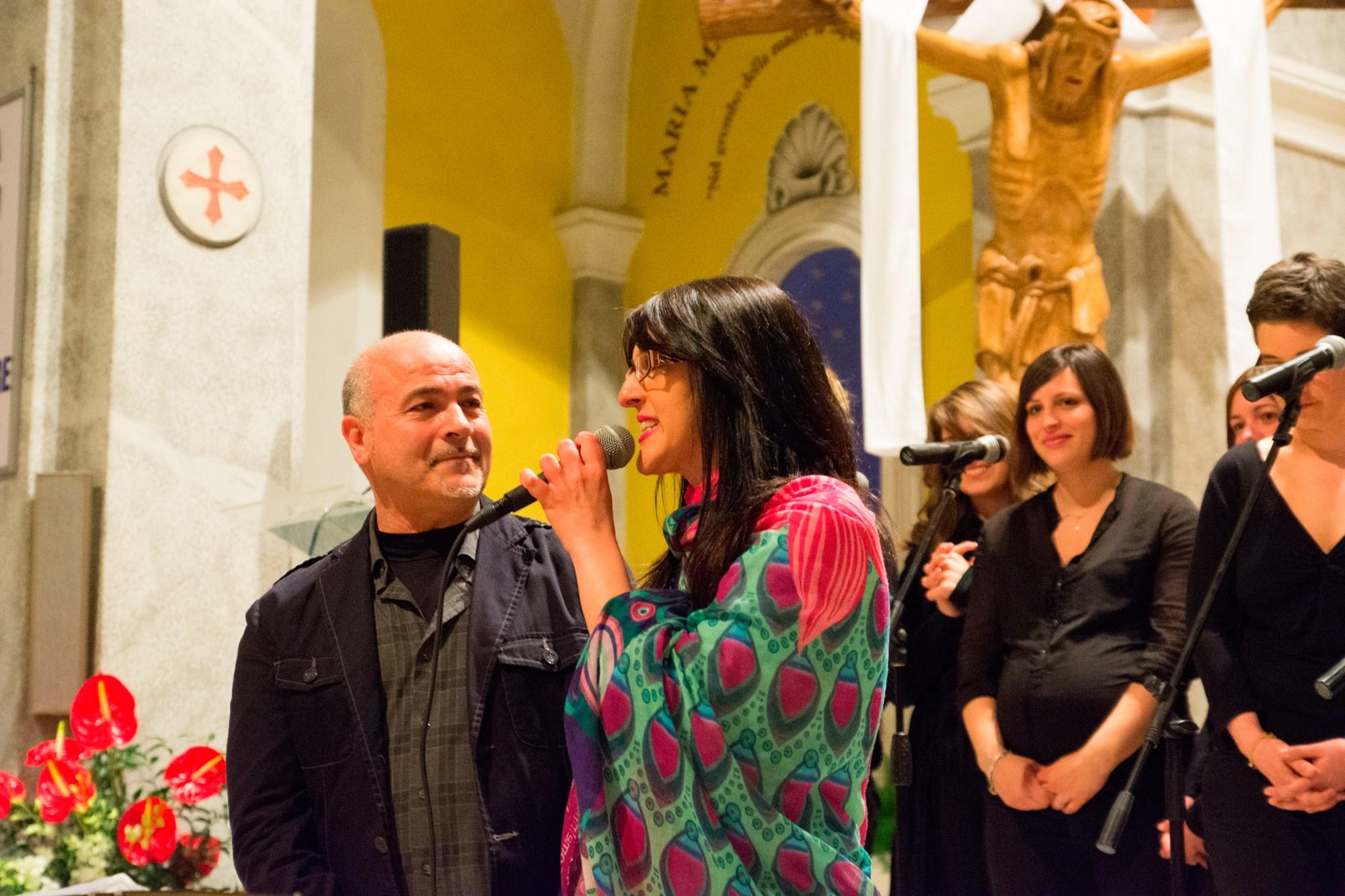 Aurelio Pitino e Anna Petracca