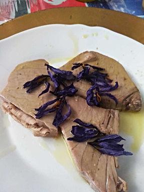Saffron tuna
