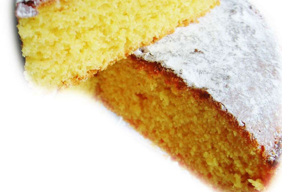 Ricotta and saffron cake