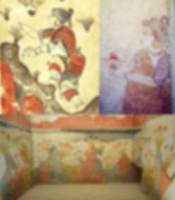 Raccoglitrici di zafferano Palazzo di Cnosso