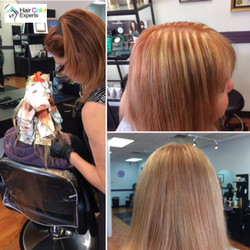 Highlights & Color Re-touch
