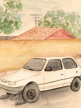Inventário de carros abandonados