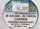 26 gauge Copper