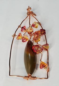 Flower Vase Pendant