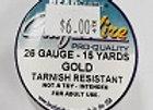26 gauge Gold