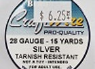 28 gauge Silver
