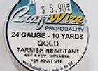 24 gauge Gold