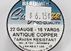 22 gauge Antique Copper