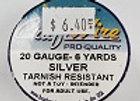20 gauge Silver