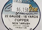 22 gauge Copper