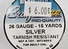 26 gauge Silver