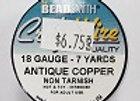 18 gauge Antique Copper