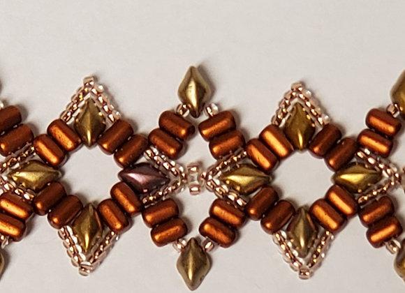 Indian Star Bracelet Pattern