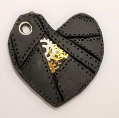 Layered Steampunk Heart