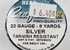 22 gauge Silver