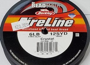 6lb Fireline Crystal
