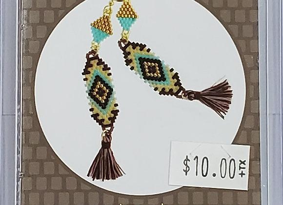 Tassel Tapestry Earring kit