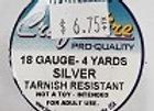 18 gauge Silver