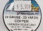 24 gauge Copper