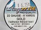 22 gauge Gold