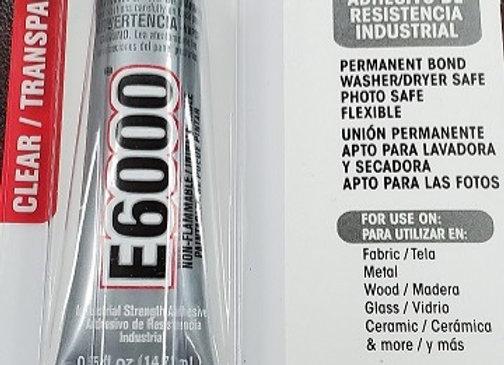 E6000 .5 fl oz