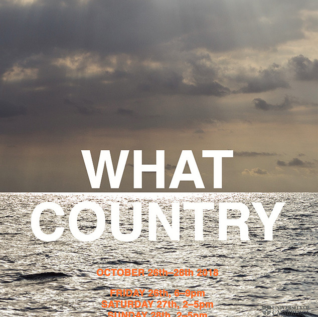 What Country @ Cambridge Festival of Ideas