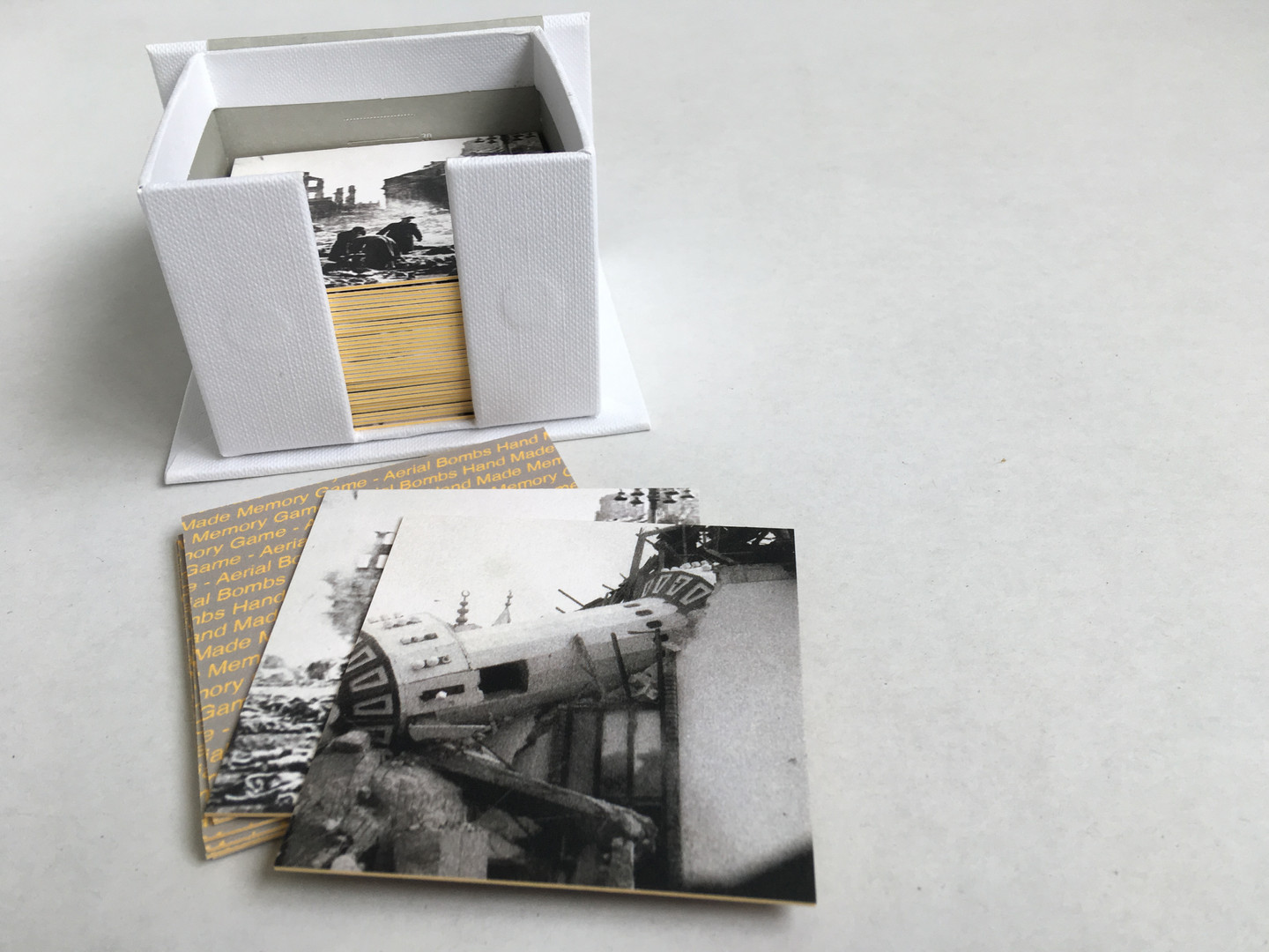 Hand Made Memory Game - A Triptych