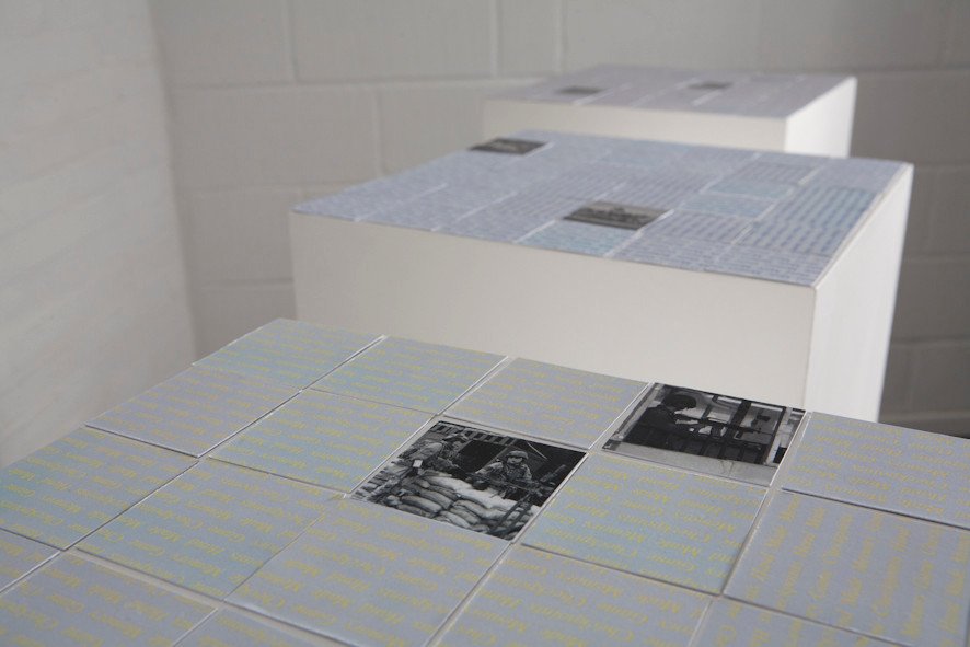 Hand Made Memory Game - A triptypch (2005-2010)