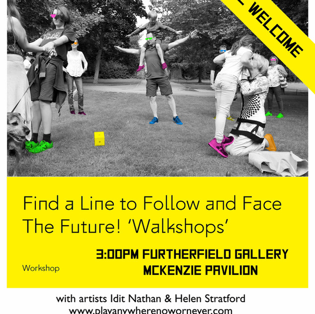 Find a Line to Follow @ Furtherfield