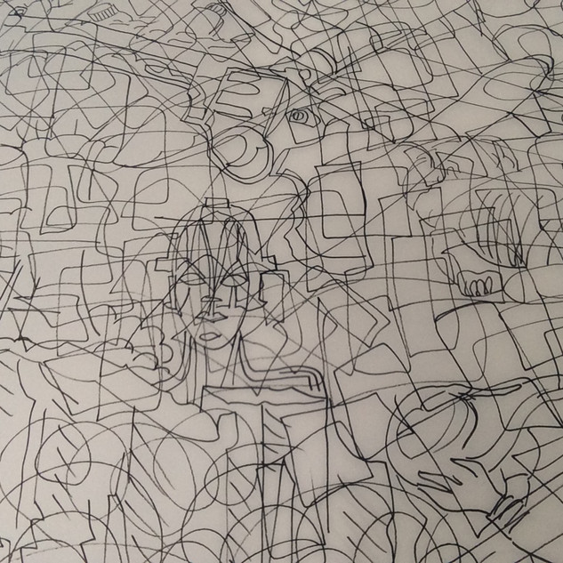 Blind Spot Drawings