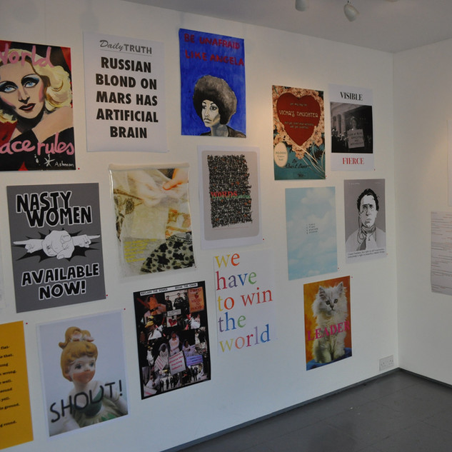 Nasty Women Cambridge Sisters exhibition