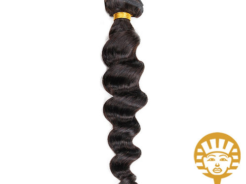 "Virgin Brazilian Human Hair ""Loose Wave"""
