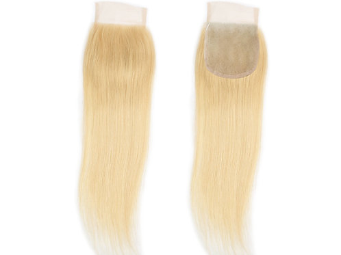 "Eurasian Body Wave Lace Closure ""Blonde"""