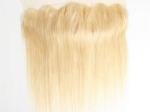 "Eurasian Straight Lace Frontal "" Blonde"""