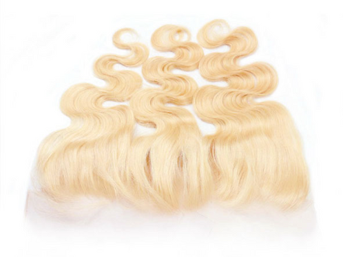 "Eurasian Body Wave Lace Frontal ""Blonde"""