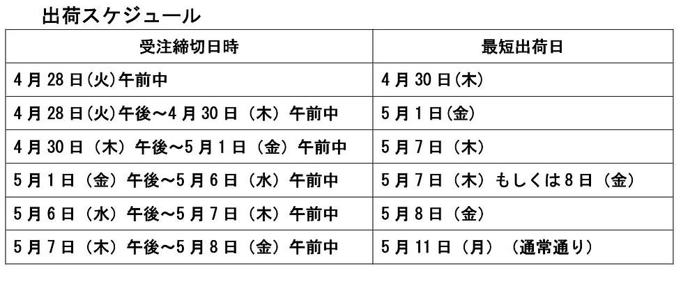 2015.GW出荷スケジュール.JPG