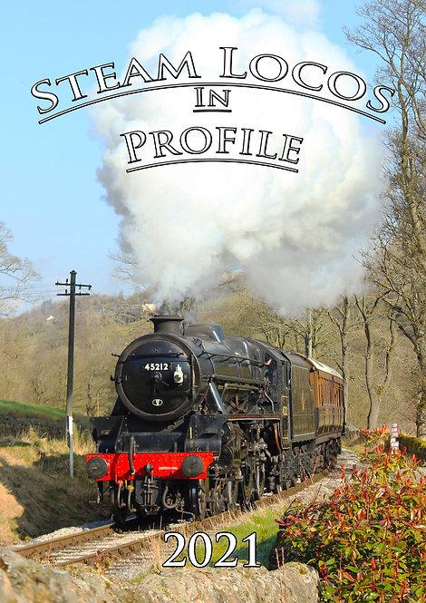 'SIGNED' Steam Locos In Profile - 2021 Calendar