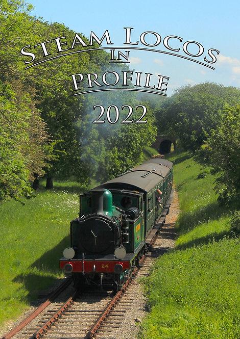 Steam Locos In Profile - 2022 Calendar