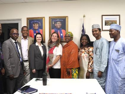 AUN Recieves SENSE Project Monitors From USAID