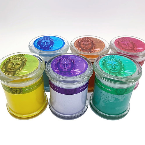 Buddhalicious Soy Glass Candle 3ct ($12/ea)