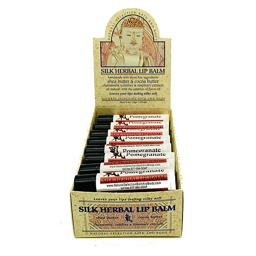 Silk Herbal Lip Balm 24ct ($3/ea)