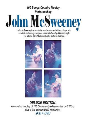 CD John McSweeney Deluxe Edition (2CD + DVD)